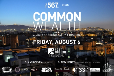 The 567 Present : The Common Wealth